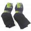 Čierne bambusové ponožky GNG