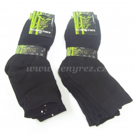 Black bamboo socks GNG