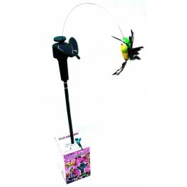 Zahradní solární ptáček - pohyblivá dekorace