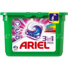 Ariel 3v1 Colour & Style gelové kapsle