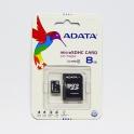 MicroSDHC Karte 8GB mit SD-Adapter