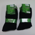 10x black Bamboo Health Socks