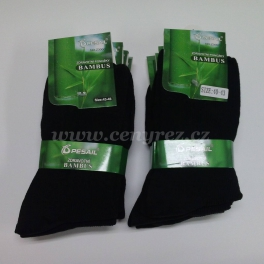 10x black Bamboo Health Socks