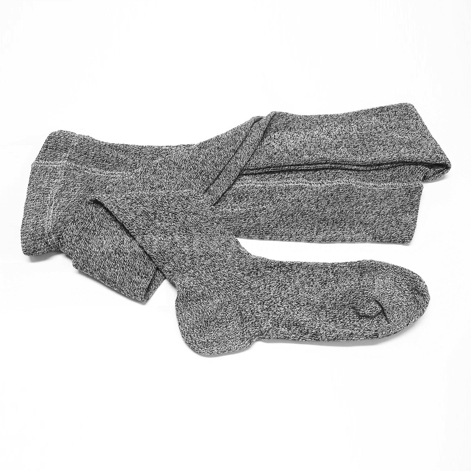 Ribbed tights MELKONA - black-heather 1