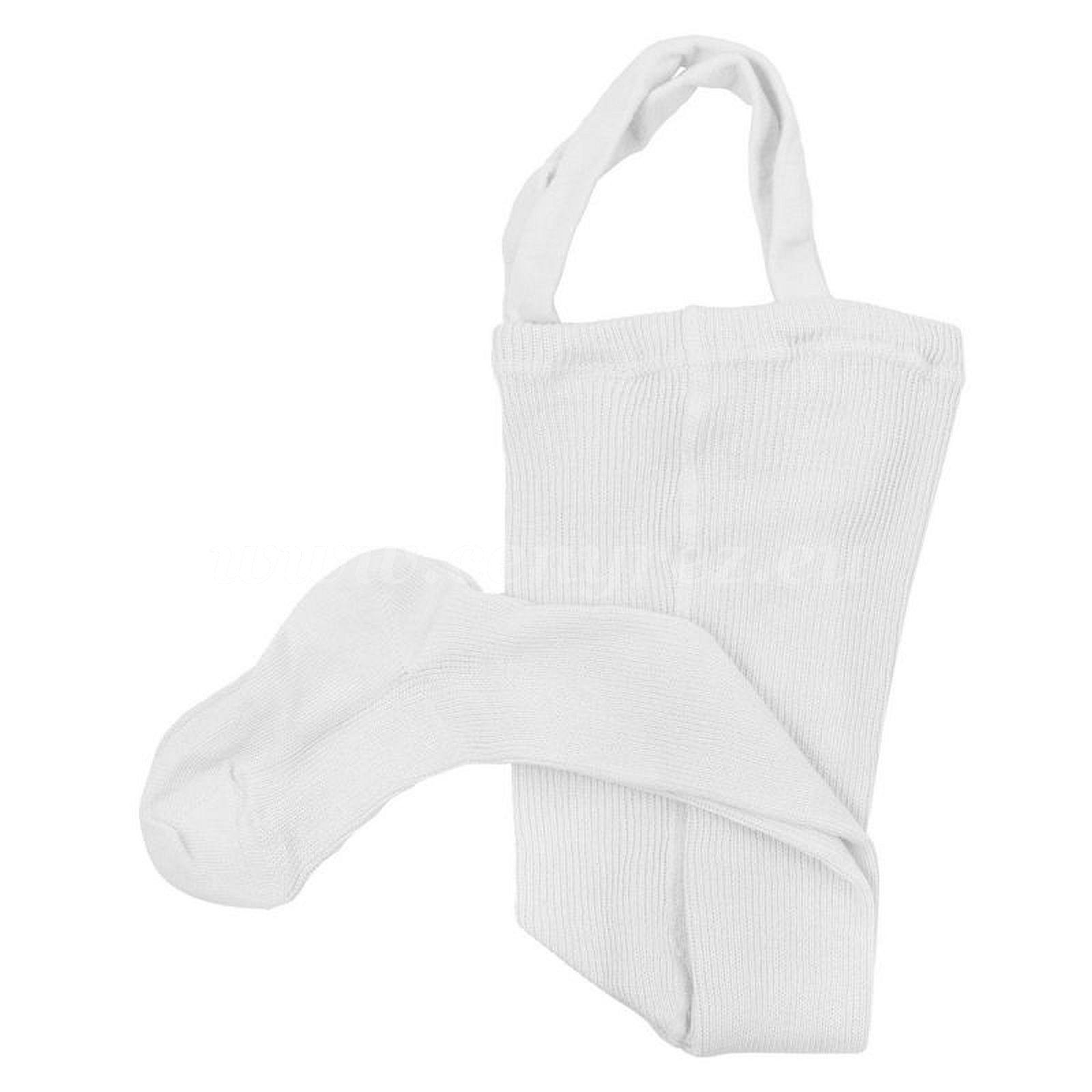 DUCIKA Babystrumpfhosen mit Trägern - weiß