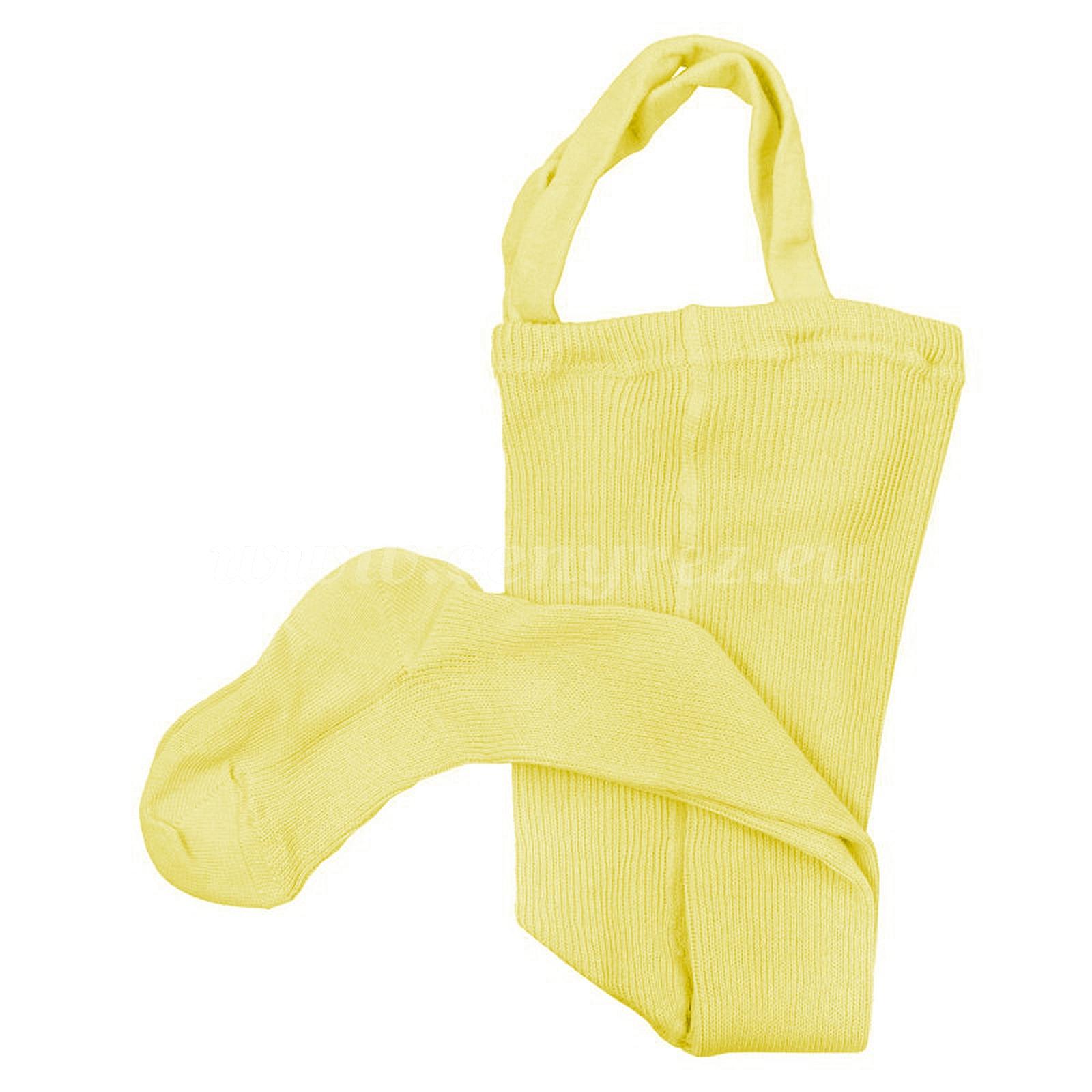 DUCIKA pančucháče s trakmi - žltá
