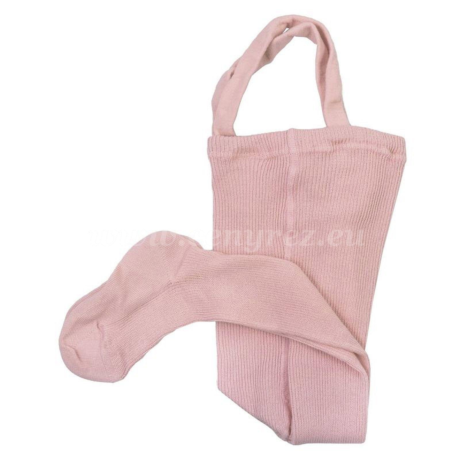 ДУЦИКA колготки с подтяжками - светло-розовый