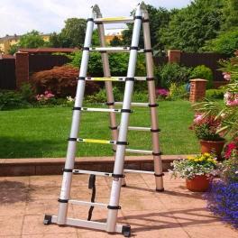 Teleskopický rebrík-štafle MCDillen 5m