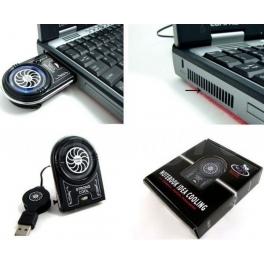 USB přídavný chladič s ventilátorem pro notebooky
