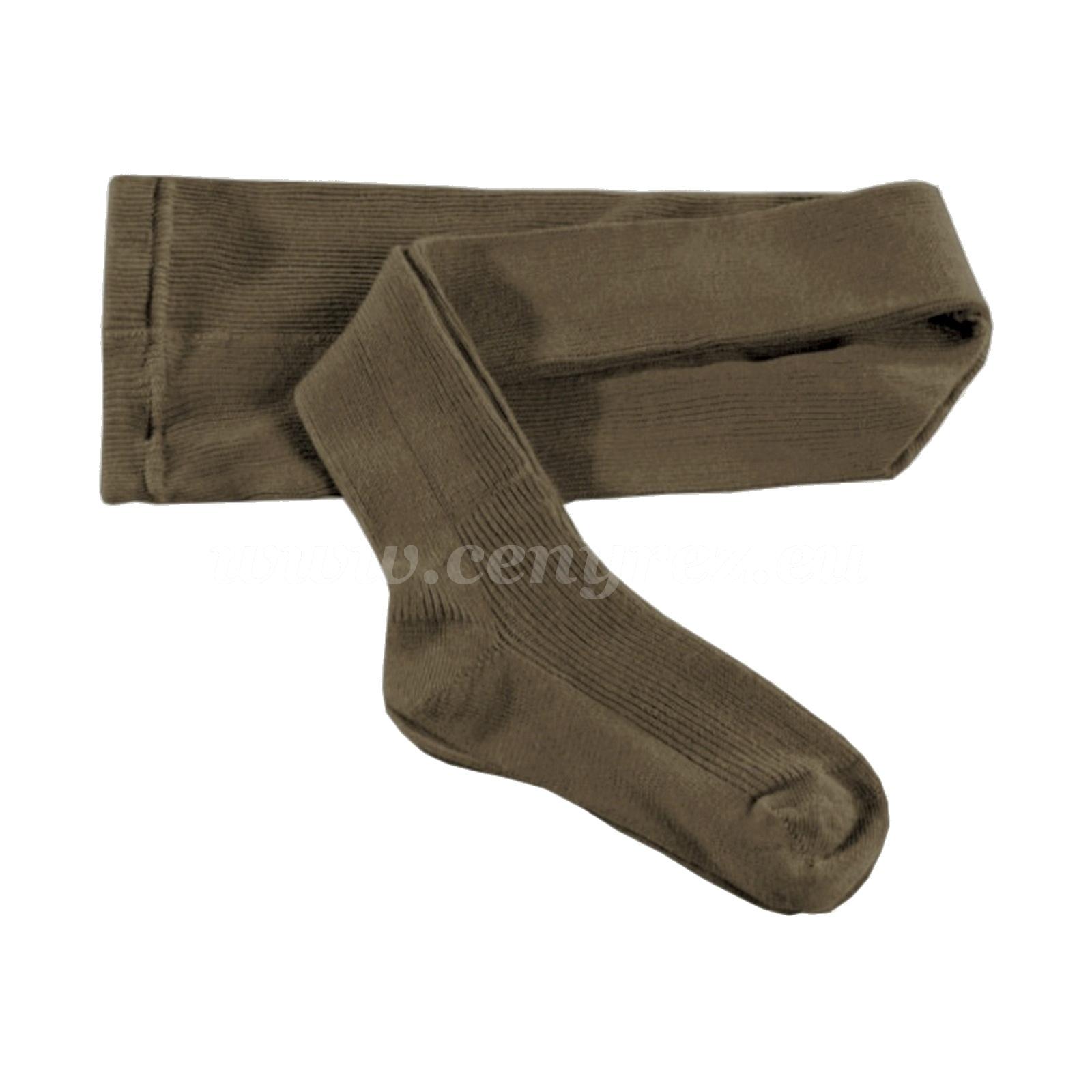 KASKA Kinderstrumpfhose gerippt - braun