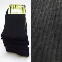 9x černé bambusové ponožky