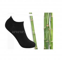 8x kotníkové bambusové ponožky